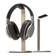 H Stand for Gaming and Audio Headphones - Champagne Gold
