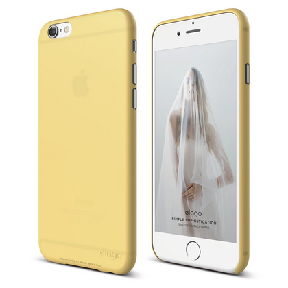 S6 Inner Core Case for iPhone 6/6s - Creamy Yellow