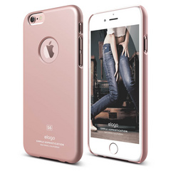 S6 Slim Fit Case for iPhone 6/6s - Rose Gold