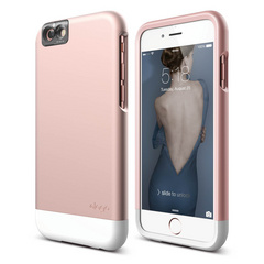 S6 Glide Cam for iPhone 6s - Rose Gold / White