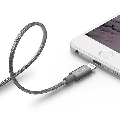 Aluminum Lightning Cable for Sync & Charge - Dark Gray