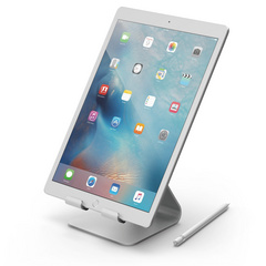 P4 Stand  for iPad and Tablets - Silver