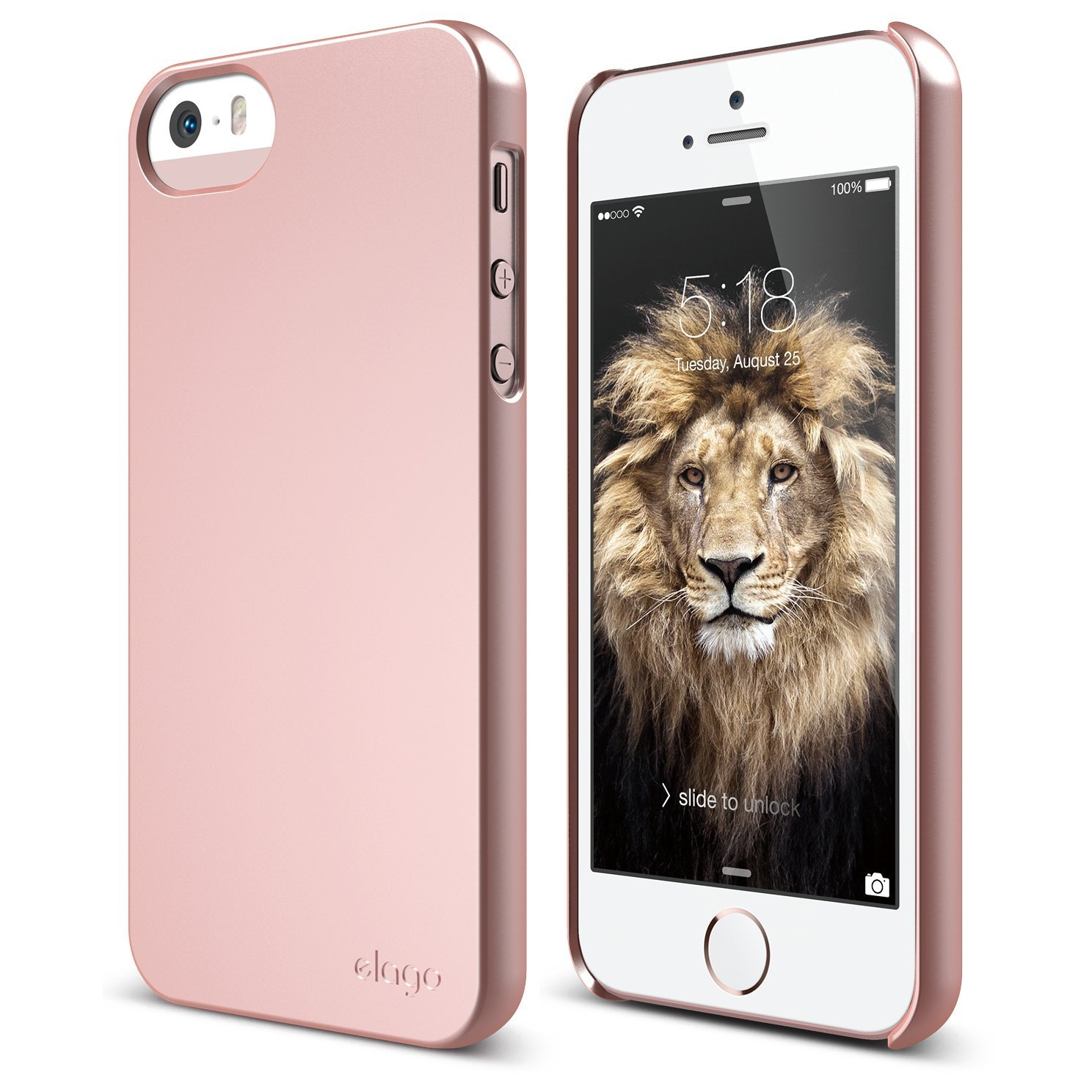 s5 slim fit 2 case for iphone 5 5s se rose gold elago europe. Black Bedroom Furniture Sets. Home Design Ideas