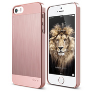 S5 Outfit Matrix Case for iPhone 5/5s/SE - Rose Gold / Rose Gold