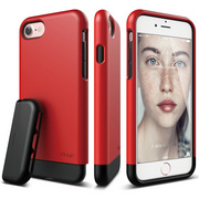 S7 Glide for iPhone 7 - Extreme Red / Black