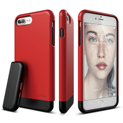 S7+ Glide for iPhone 7 Plus - Extreme Red / Black