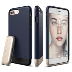 S7+ Glide for iPhone 7 Plus - Jean Indigo / Champagne Gold
