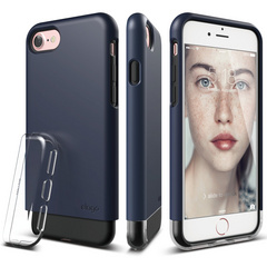 S7 Glide for iPhone 7 - Jean Indigo / Crystal Clear