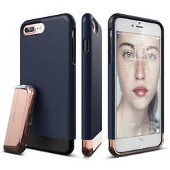 S7+ Glide for iPhone 7 Plus - Jean Indigo / Chrome Rose Gold