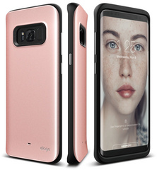 Hybrid Grip Case for Galaxy S8 - Rose Gold