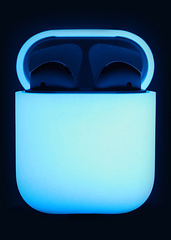 Airpods Silicone Case - Nightglow Blue