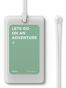 Luggage Tag - Transparent