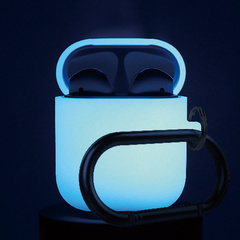 Airpods Silicone Hang Case - Nightglow Blue