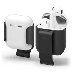 Airpods Carrying Clip - Black
