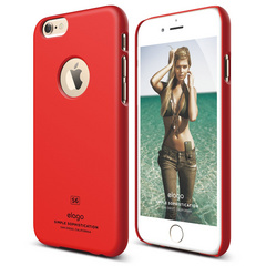 S6 Slim Fit Case for iPhone 6/6s - Extreme Red