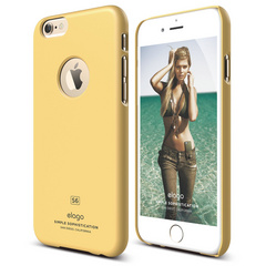 S6 Slim Fit Case for iPhone 6/6s - Creamy Yellow