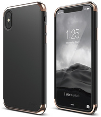 Empire for iPhone X - Rose Gold / Black