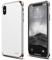 Empire for iPhone X - Rose Gold / White