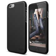 S6 Slim Fit 2 Case for iPhone 6/6s - Matt Black