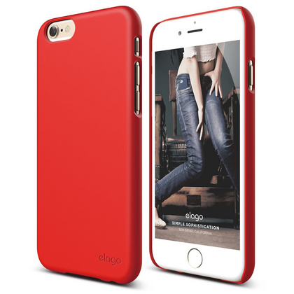S6 Slim Fit 2 Case for iPhone 6/6s - Extreme Red