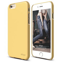 S6 Slim Fit 2 Case for iPhone 6/6s - Creamy Yellow