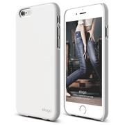 S6 Slim Fit 2 Case for iPhone 6 ONLY - Shiny White