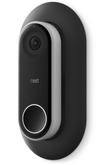 Wall Plate for Nest Hello Doorbell - Black