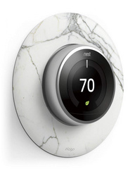 Classical Wall Plate Cover for Nest Learning Thermostat - Marble