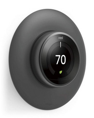 Classical Wall Plate Cover for Nest Learning Thermostat - Dark Gray