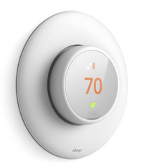 Classical Wall Plate Cover for Nest Thermostat E - White