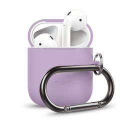 Airpods Silicone Hang Case - Lavender
