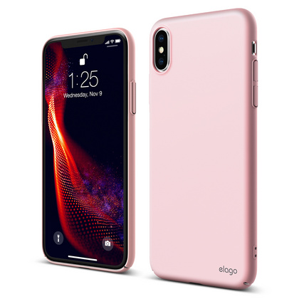 Slim Fit for iPhone Xs - Lovely Pink
