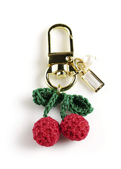 Airpods Keyring - Cherry