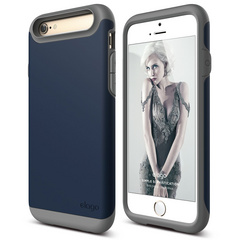 S6 Duro Case for iPhone 6/6s - Dark Gray / Jean Indigo
