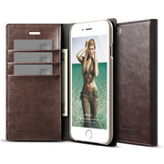 S6 Wallet Card Case for iPhone 6/6s - Brown