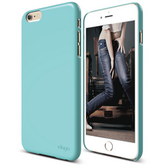 S6+ Slim Fit 2 Case for iPhone 6 Plus ONLY - Coral Blue