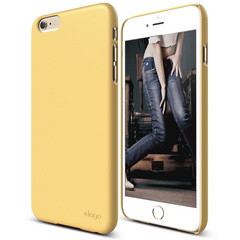 S6+ Slim Fit 2 Case for iPhone 6/6s Plus - Creamy Yellow
