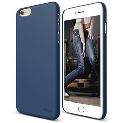 S6+ Slim Fit 2 Case for iPhone 6/6s Plus - Jean Indigo