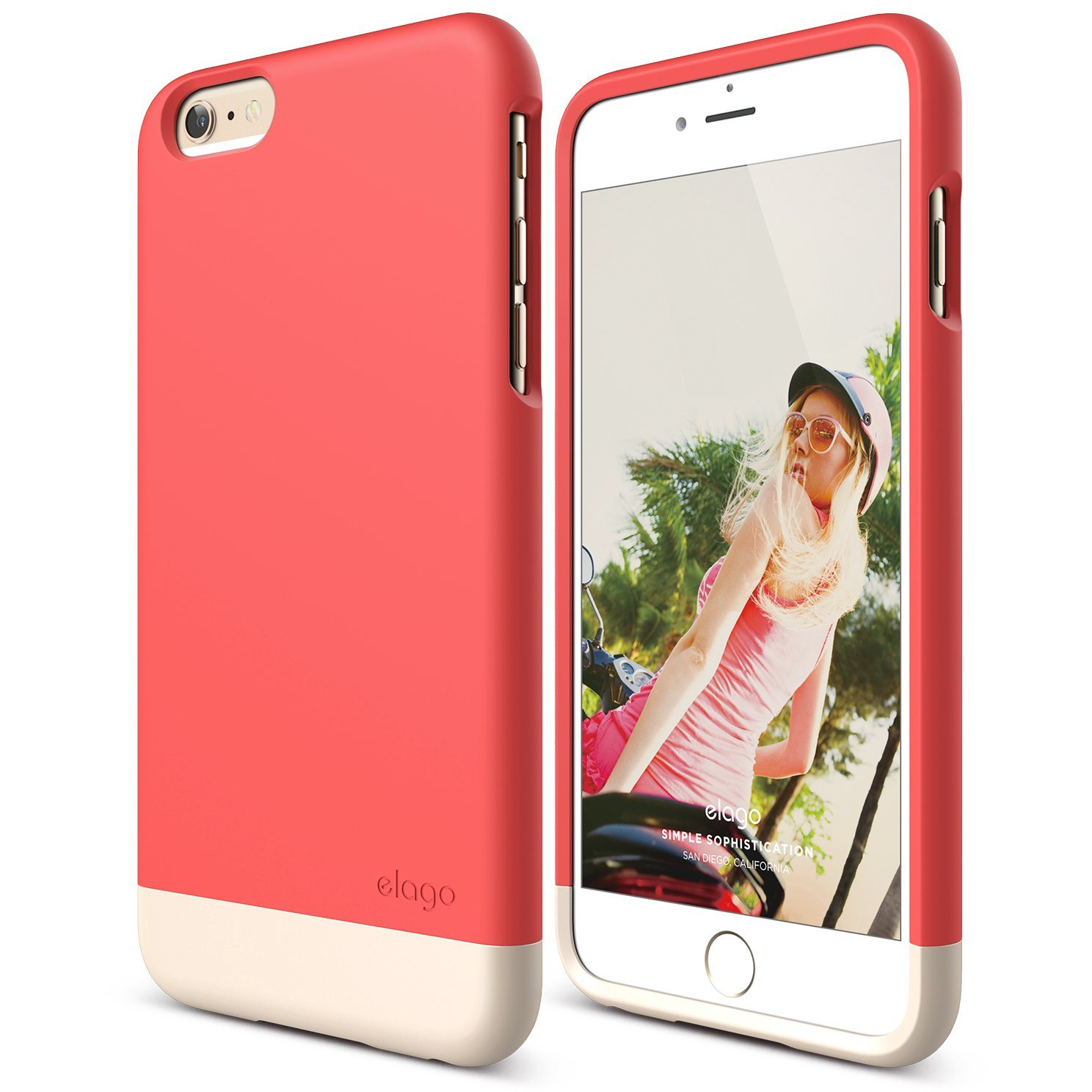 S6+ Glide for iPhone 6 Plus - Italian Rose / Champagne ...