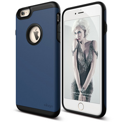 S6+ Duro Case for iPhone 6/6s Plus - Black / Jean Indigo