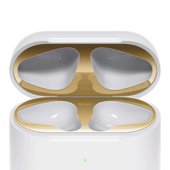 Airpods Wireless Case Dust Guard - Gold with 18K Gold Plating (2 sets)
