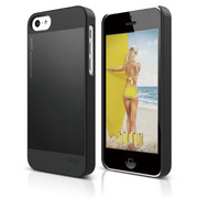 S5c Outfit Case for iPhone 5C - Black / Black