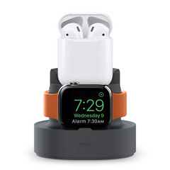 Mini Dual Charging Stand - Dark Gray