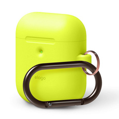 Airpods Silicone Hang Case - Neon Yellow