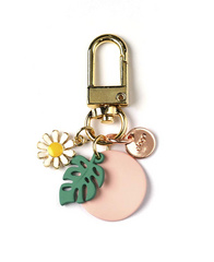 Airpods Keyring - Pink Forest