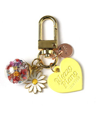 Airpods Keyring - Yellow Heart