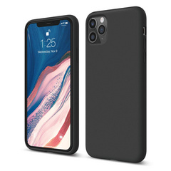 Silicone Case for iPhone 11 PRO Max - Black
