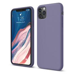 Silicone Case for iPhone 11 PRO Max - Lavanda Gray