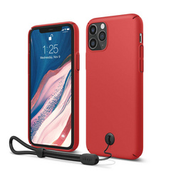 Slim Fit Strap Case for iPhone 11 PRO Max - Red