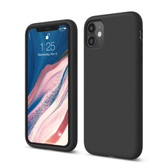 Silicone Case for iPhone 11 - Black